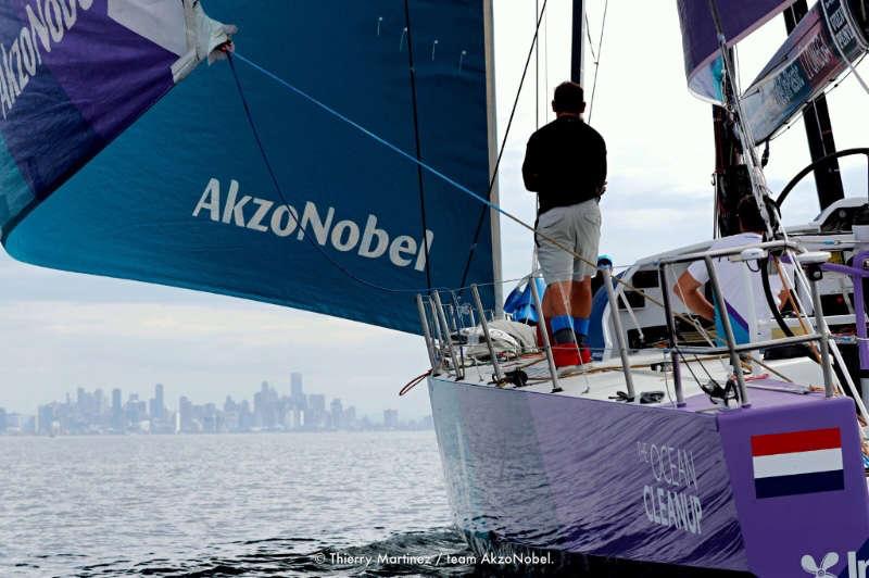 Damaged team AkzoNobel completes tortuous third leg of Volvo Ocean Race 2017-18