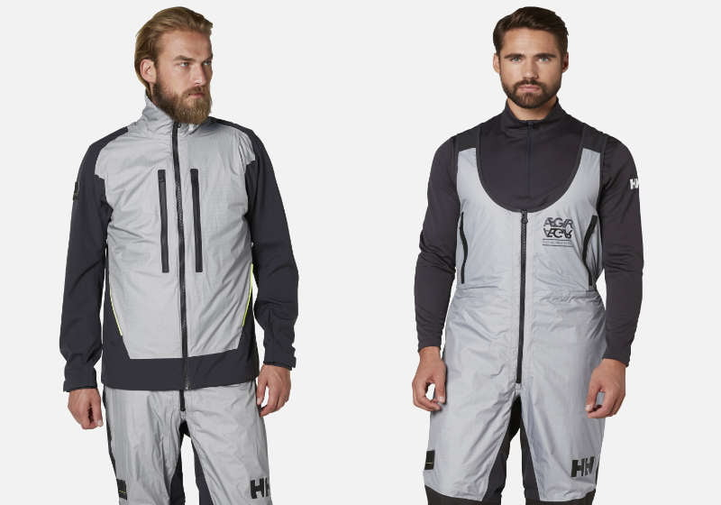 The sailing jacket made for the Volvo Ocean Professionals