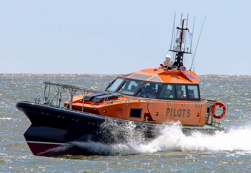 A previous ORC pilot boat built by Goodchild Marine. Pic credit Goodchild Marine.