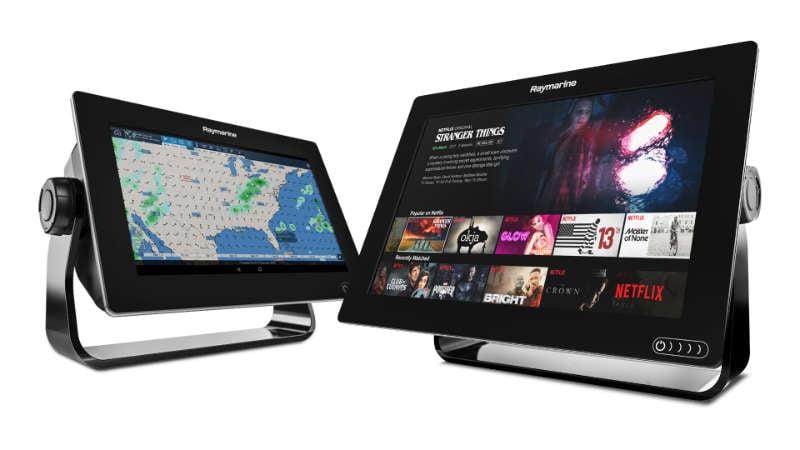Raymarine - FLIR Releases Major Raymarine LightHouse OS Upgrade