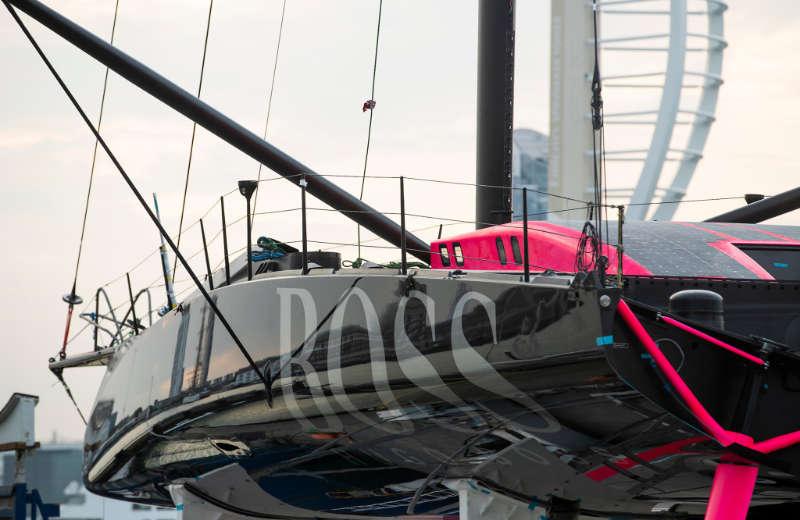 Alex Thomson Racing - Stunning new Hugo Boss boat hits the water