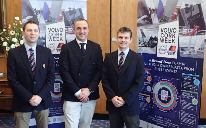 Volvo Cork Week Update - UK Launch and Beaufort Cup
