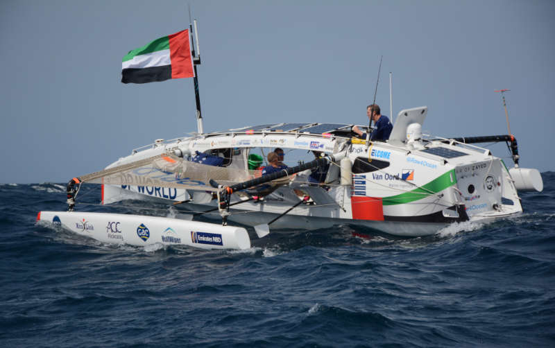 Inmarsat-backed Row4Ocean's brave record bid ends but inspirational message is received loud and clear