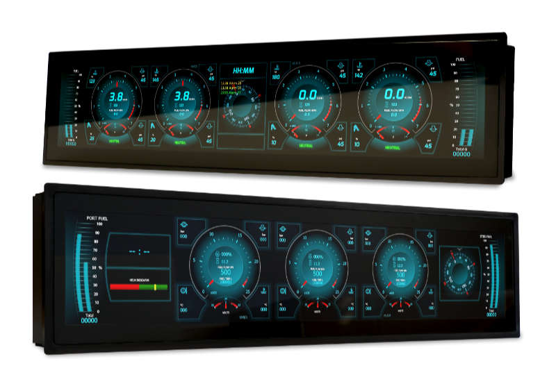 New Multiple Engine Display from Oceanic Systems (UK) Ltd