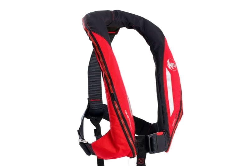 High performance design for Ocean Safety's new  Kru Sport lifejacket