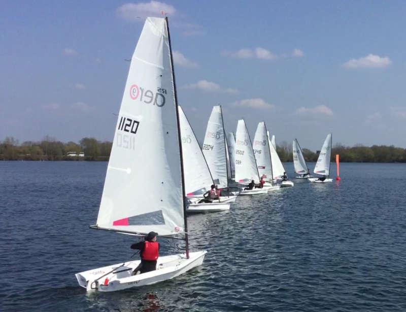 RS Aero UK Spring Championships - Burghfield Sailing Club