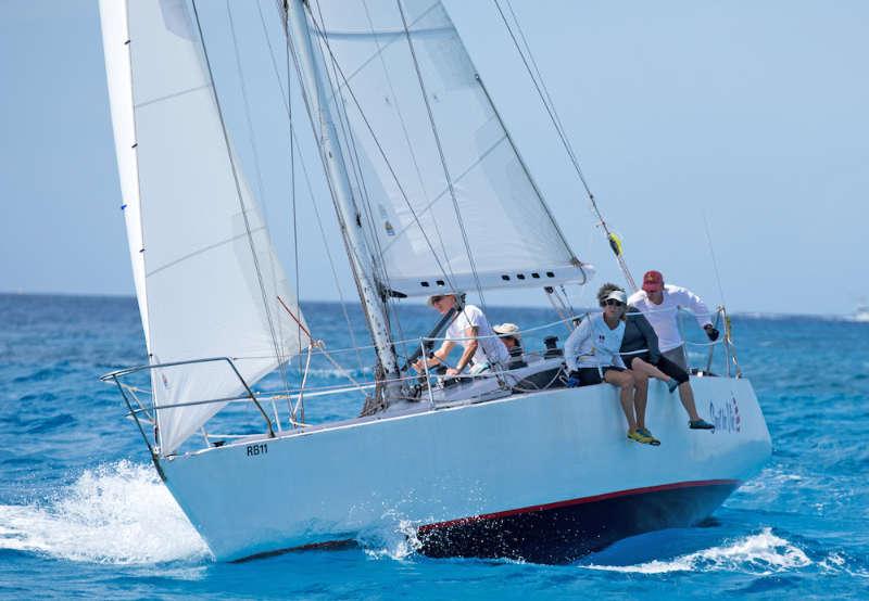 High spirits at Barbados Sailing Week