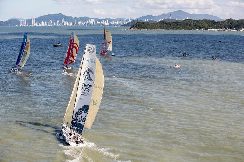 Volvo Ocean Race - Six teams to take start of Itajaí In-Port Race
