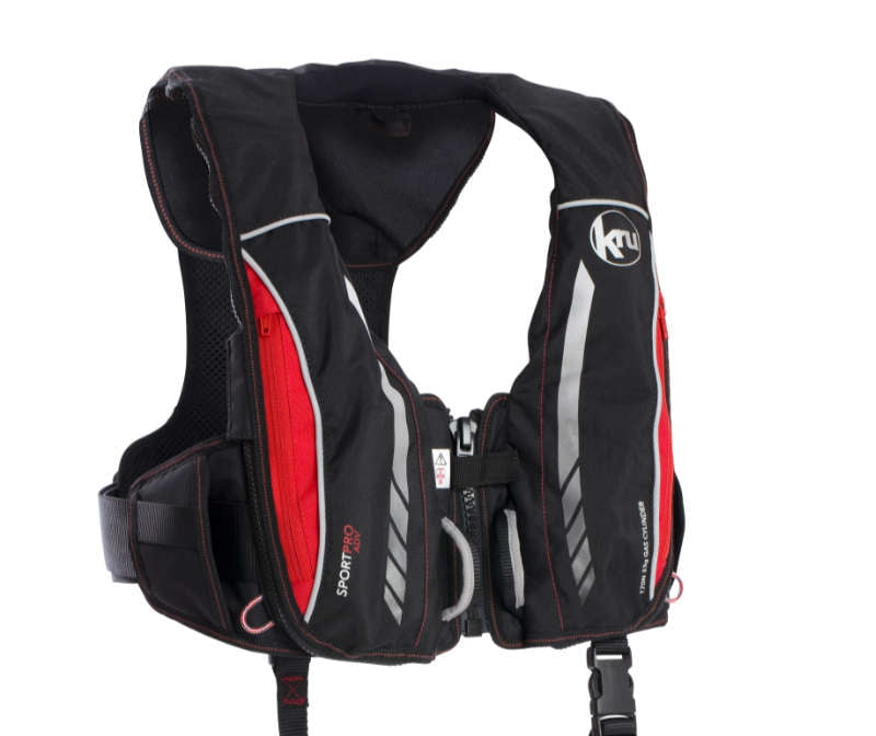 Kru Sport Pro lifejackets from Ocean Safety set the new standard for extreme sailing