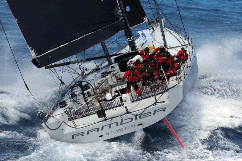 Rambler 88 breaks RORC Caribbean 600 monohull record
