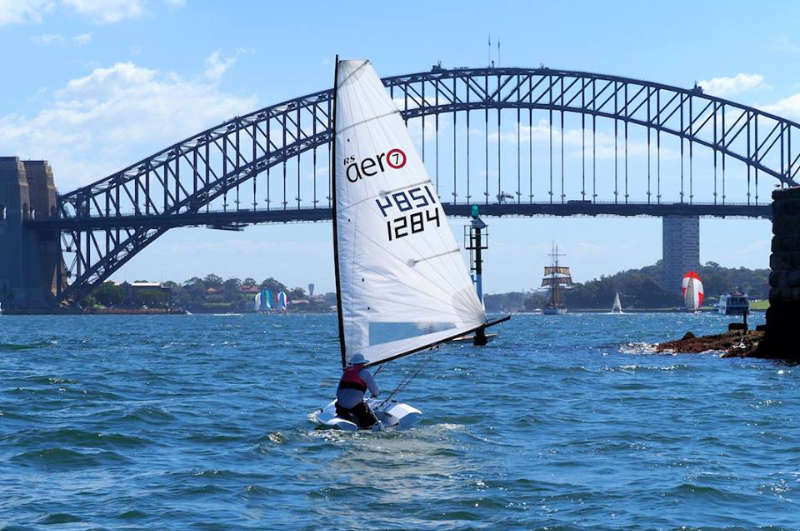 RS Aero New South Wales State Championships at Balmoral Sailing Club, Sydney Harbour