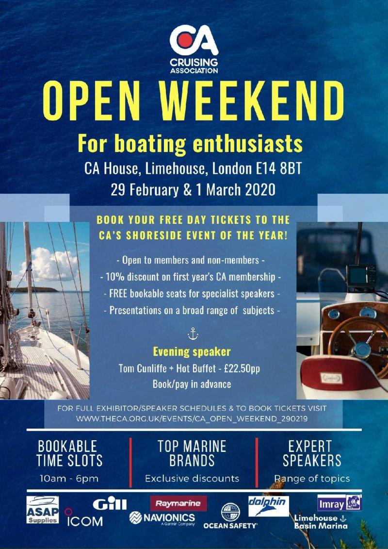 The Cruising Association - Open Weekend