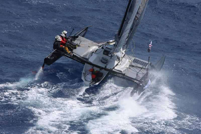 RORC Caribbean 600: She'll be right! Hero's welcome for smallest yacht