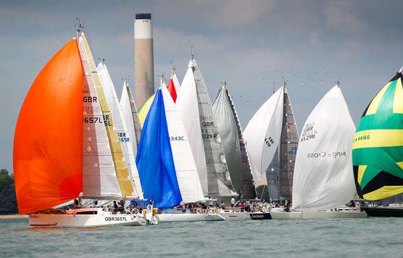 140 yachts for the RORC Myth of Malham Race