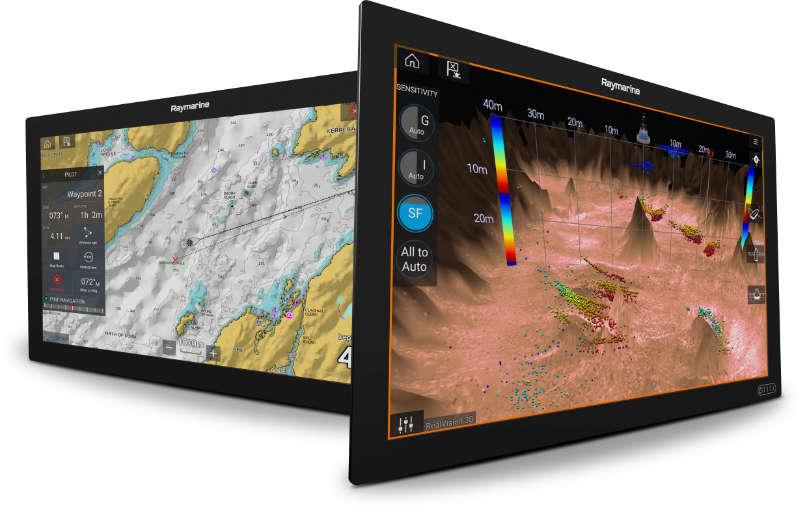 FLIR Introduces Raymarine Axiom XL Multifunction Displays