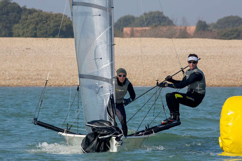 RS800 - What next after youth sailing?