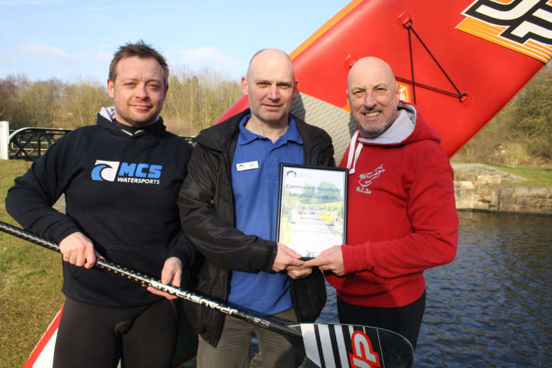 Cheshire paddle boarding club becomes first in UK to adopt a Canal & River Trust river
