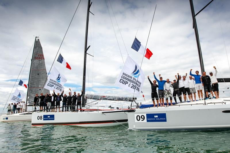 France victorious in Brewin Dolphin Commodores' Cup © RORC/Paul Wyeth/pwpictures.com