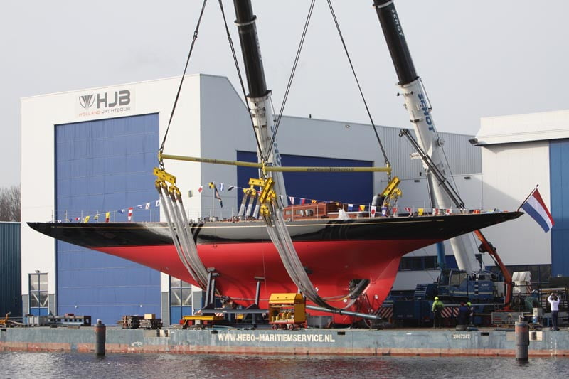 HyPS to deliver 84kW clean power battery system to J-Class Rainbow