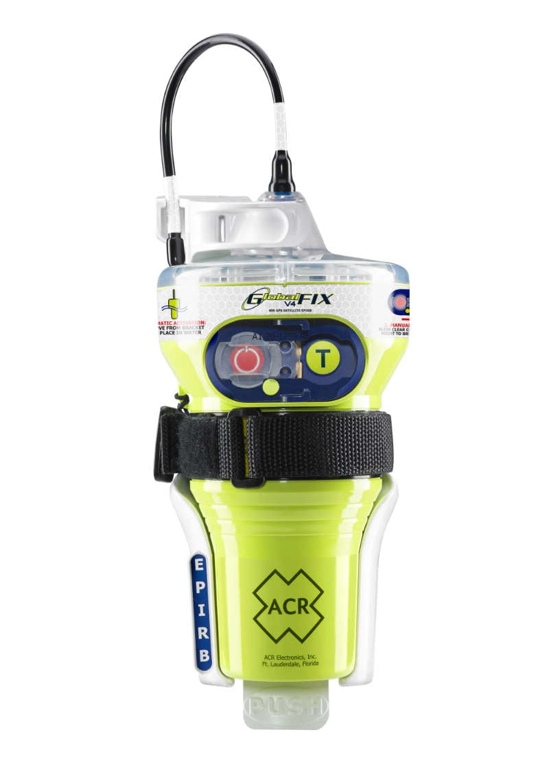 ACR Electronics provides a range of safety and survival equipment including the GlobalFIX V4 EPIRB