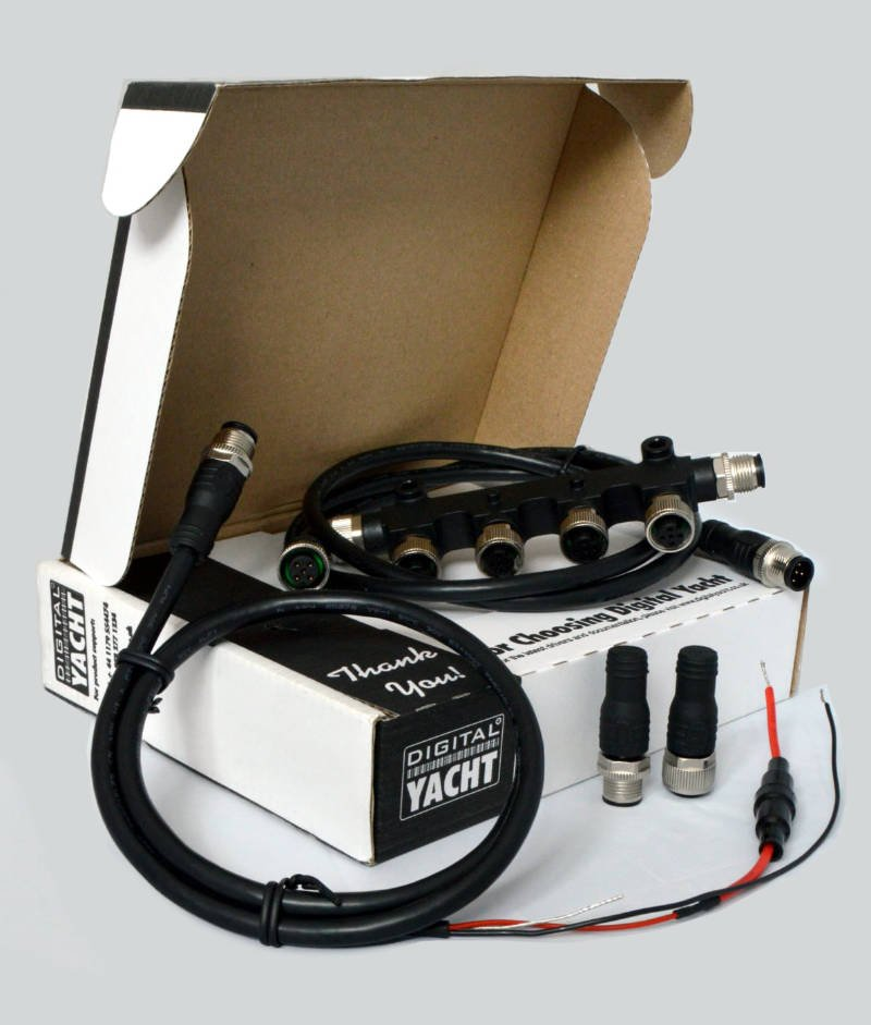 Digital Yacht's NMEA 2000 Starter Kit makes installing modern marine electronics a breeze