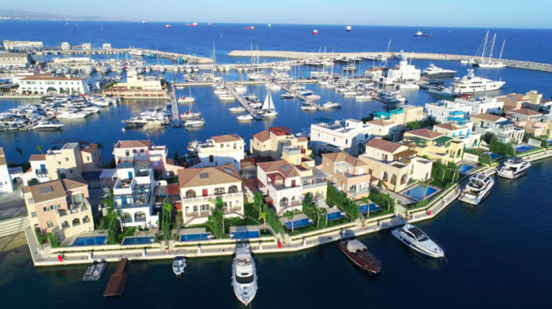 Limassol Marina's exclusive Island Villas now fully complete