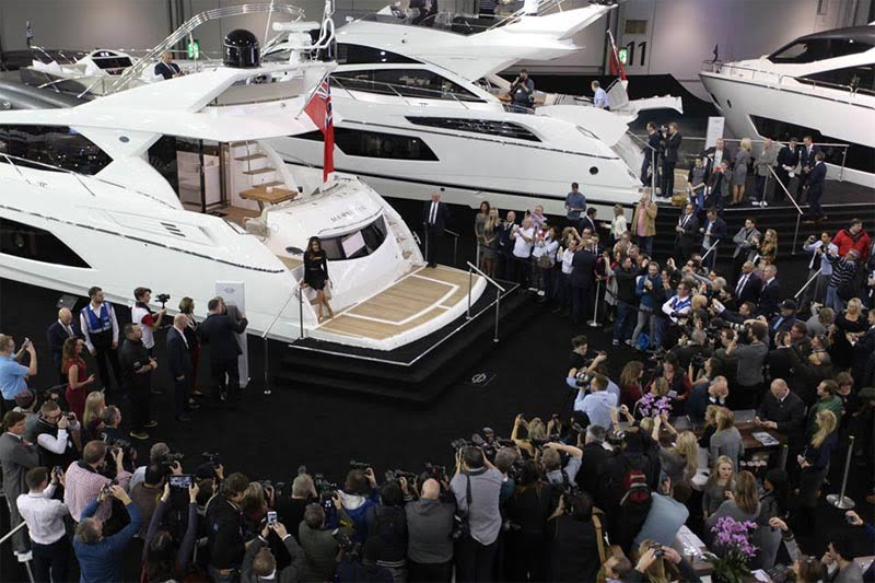 Sunseeker announces stand change for London Boat Show 2016