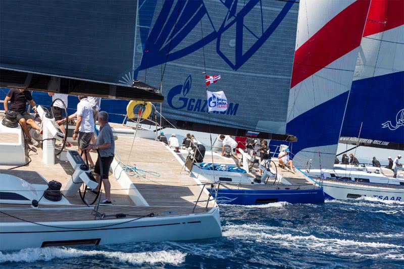 2015 Gazprom Swan 60 circuit fires up for its final showdown