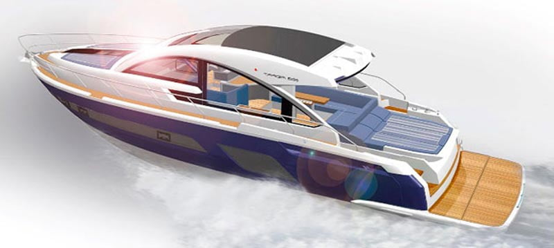 Fairline announces new OPEN addition to the 53ft range