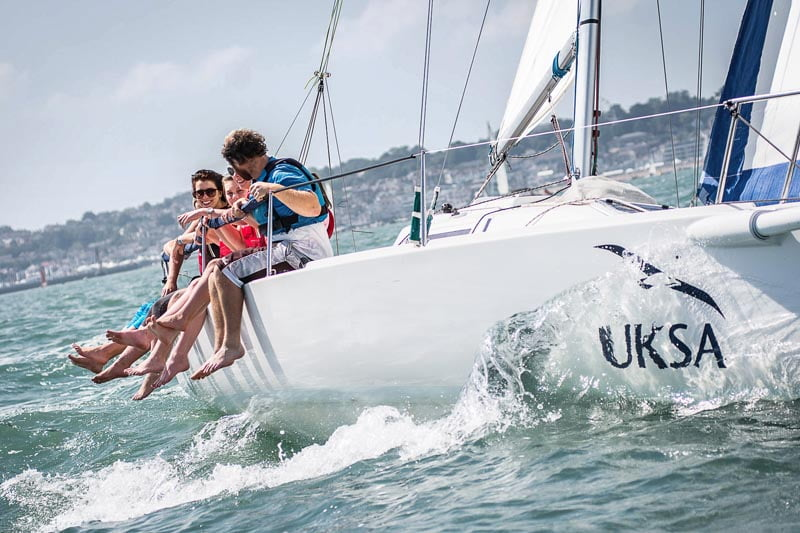 UKSA are announced as official charity of Cowes Week for one further year