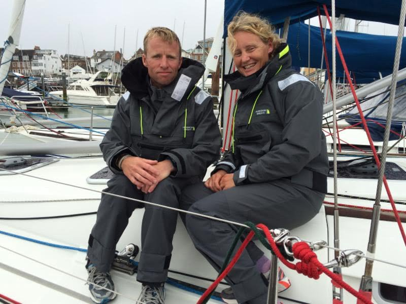 Pip Hare Ocean Racing announces Hudson Wight as Official Clothing Sponsor for the Rolex Fastnet Race ...& beyond