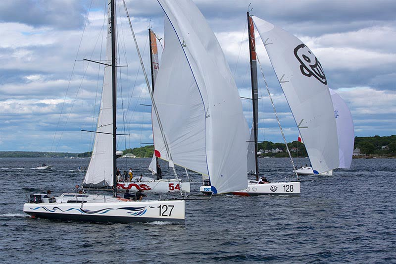 Tight Battle for 3rd in 2016 Atlantic Cup Presented by 11th Hour Racing Inshore Day 1
