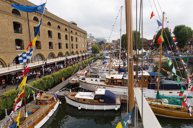 St Katharine Docks Classic Boat Festival 2015