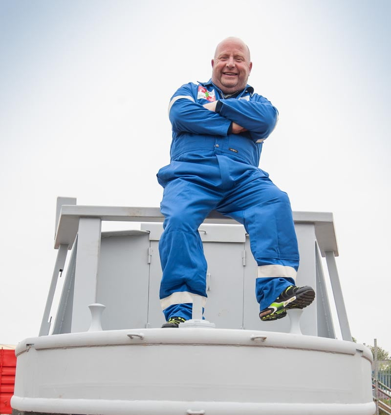 The man with narrow boat vision launches new business - First steel vessel built on Tyne for a Decade
