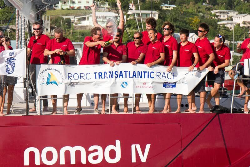 Competitors in the 2016 RORC Transatlantic Race can expect a warm spice island welcome once they reach Grenada. Jean-Paul Riviere's 100ft Finot-Conq