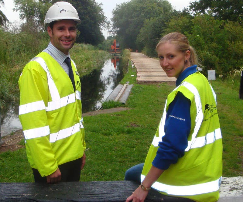 Montgomery canal opens after valuable habitats protected during emergency repairs