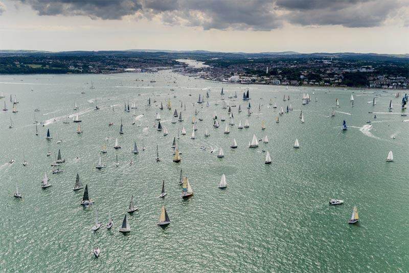 Rolex Fastnet Race - Solent Start Driftathon