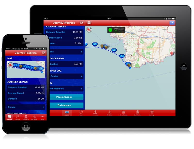 Marine logbook app Wavetrax available at special discount