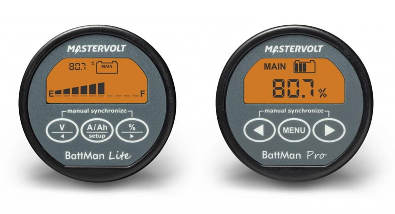 Mastervolt introduces the BattMan range of affordable and easy to fit battery monitors
