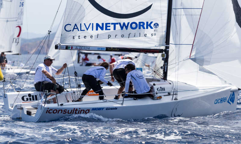 Gill announces technical clothing partnership with the J/70 Worlds in Porto Cervo