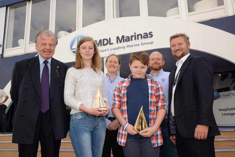 Young people celebrated at MDL Sail Training Awards