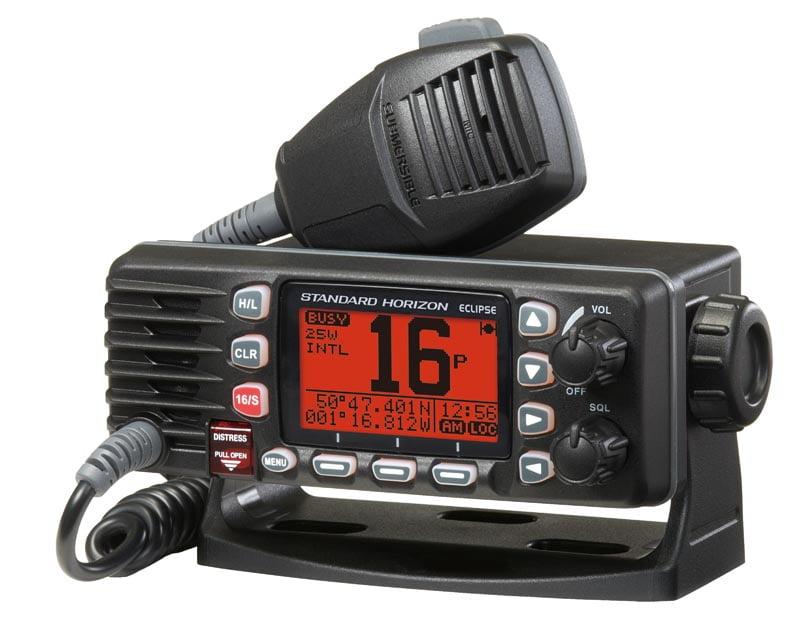 The new GX1300E Eclipse DSC VHF from Standard Horizon
