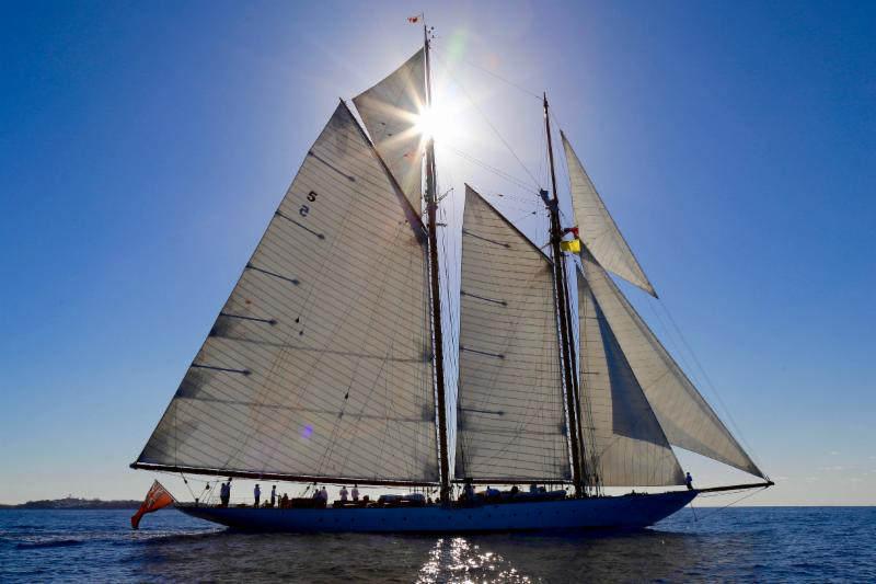 Eleonora is an exact replica of the 1910 schooner