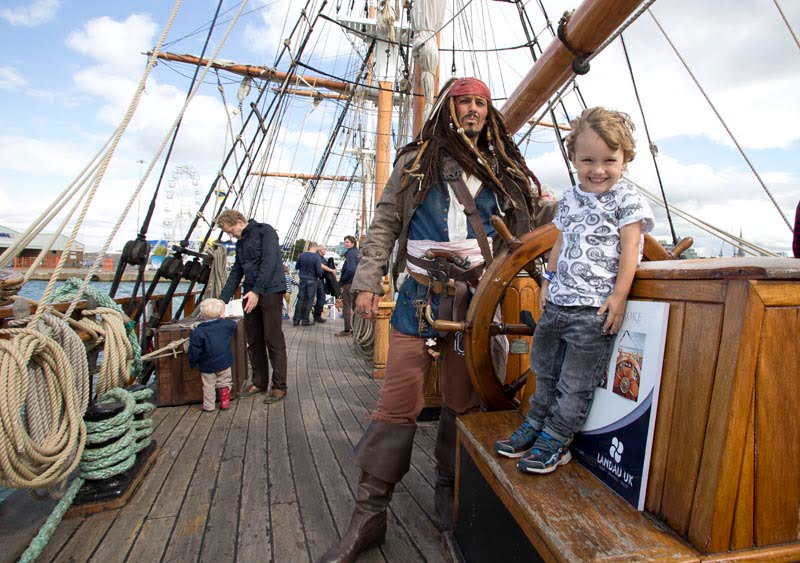Pirates of the Solent - Visitors invited to walk the plank at the Southampton Boat Show