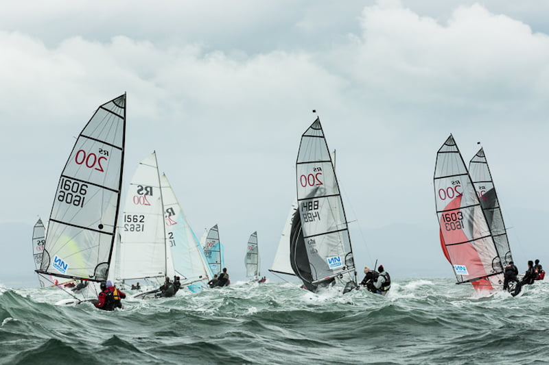 Volvo Noble Marine RS200 Nationals - Runners sand Riders