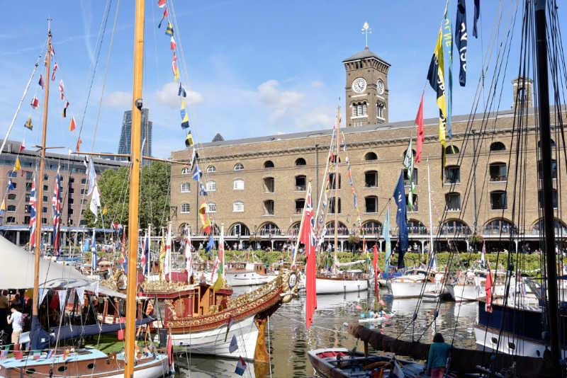 St Katharine Docks Classic Boat Festival 2017