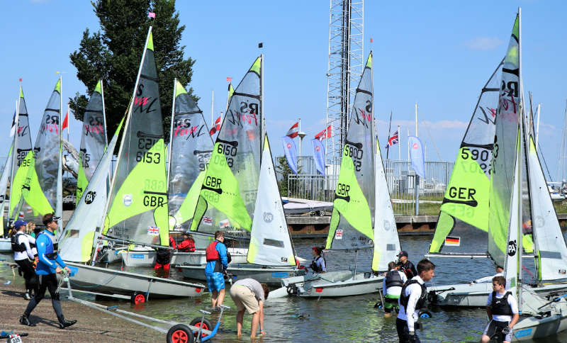 Allen & PA Consulting RS Feva World Championships 2017