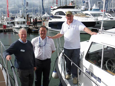 New Seaward Nelson Evolution motor cruisers make a splash at the Southampton Boat Show