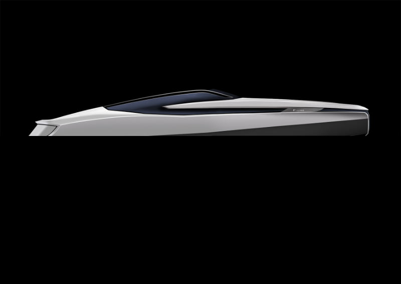 Design concept of the new Fairline 33 by Fairline Yachts