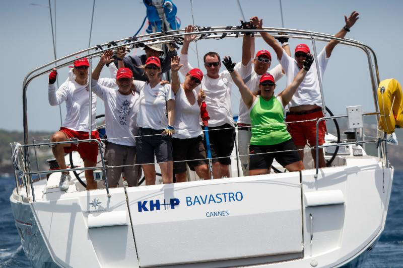 Hartmut Holtmann's KH+P yachtcharter has been bringing boats to Antigua Sailing Week since 1991 © Paul Wyeth/pwpictures.com